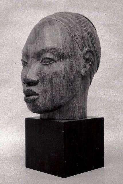 VISAGE D'AFRIQUE - bois
