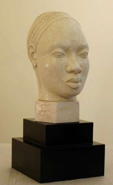 VISAGE D'AFRIQUE - plâtre