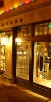 AMF Menuiserie, Façade de magasin en bois à Montreuil