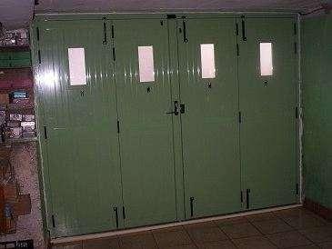 Porte aluminium 4 vantaux