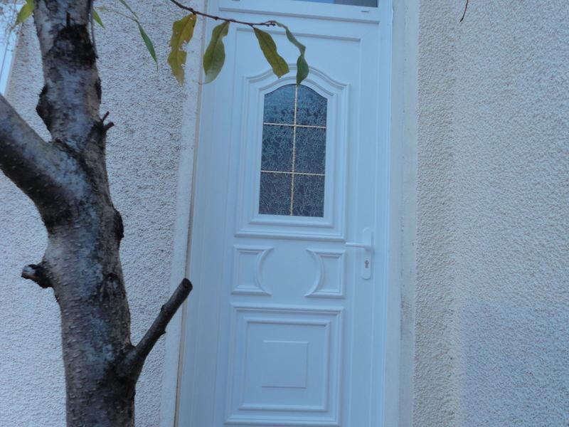 Remplacement d'une porte (vue après)