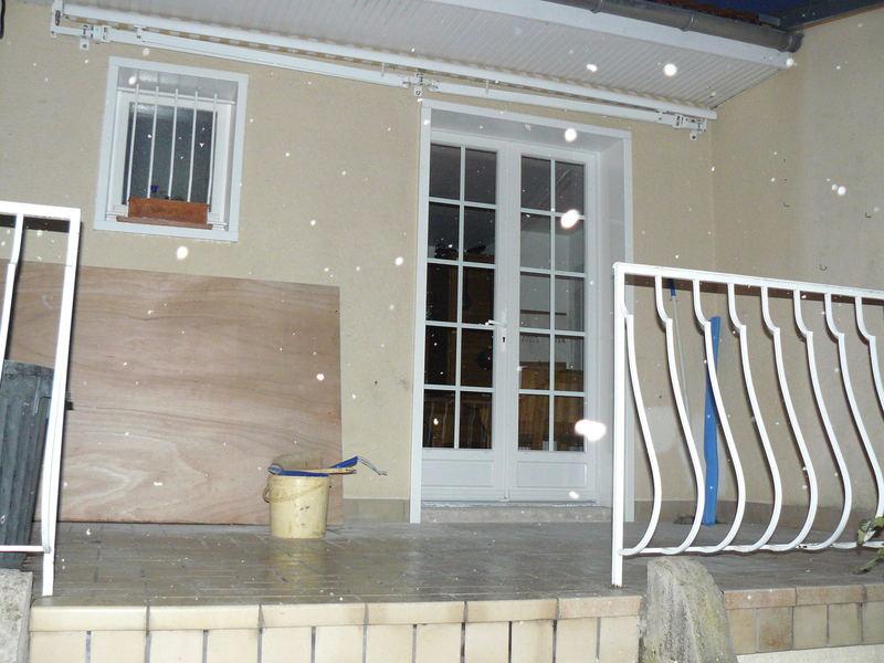 Création porte fenêtre (vue travaux finit)