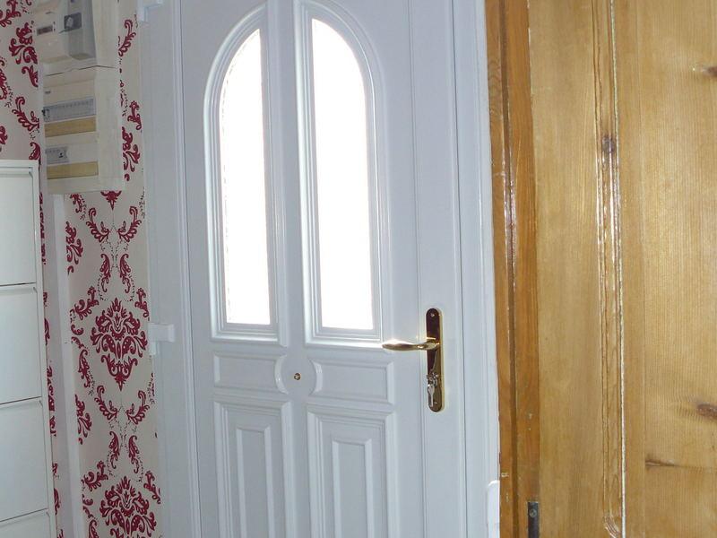 Vue intérieur porte Pvc