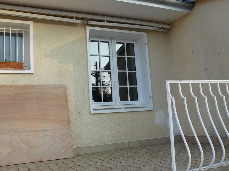 Création d'une porte fenêtre a la place de la fenêtre (vue avant)