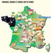 Découvrez les spécialités fromagères de chaque région de France