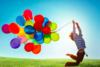 Enfants avec ballons