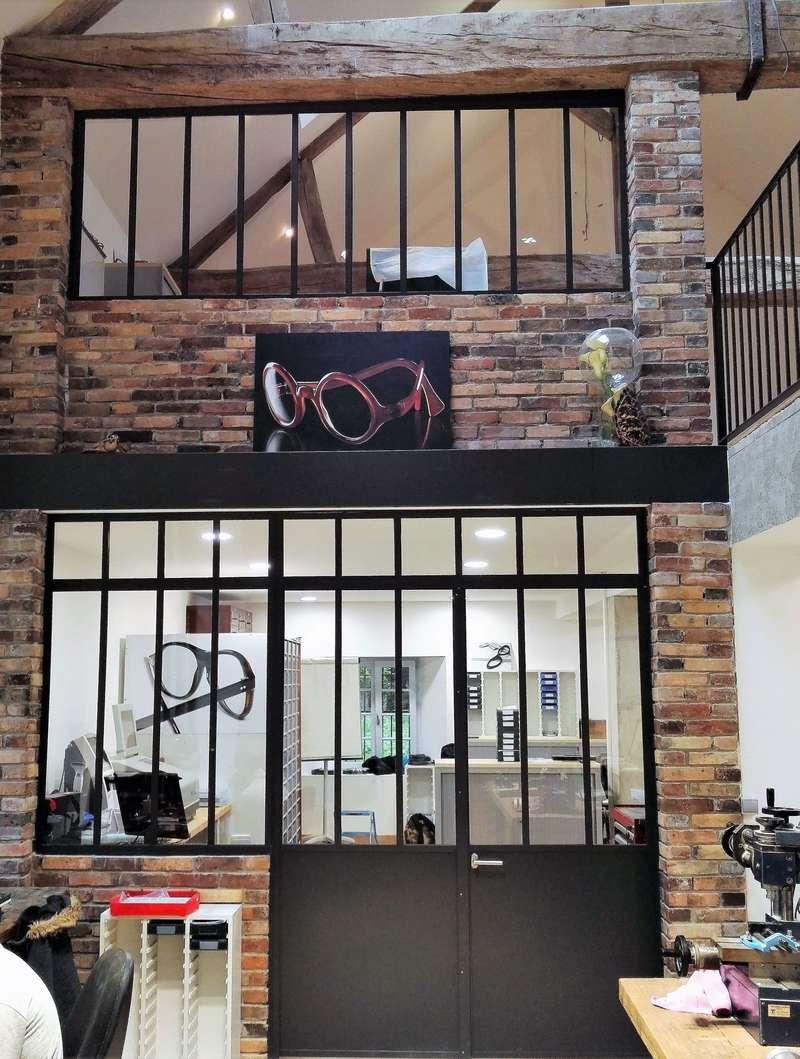 Atelier « Maison Bonnet » Lunetier, Châssis Atelier Acier. www.maisonbonnet.com