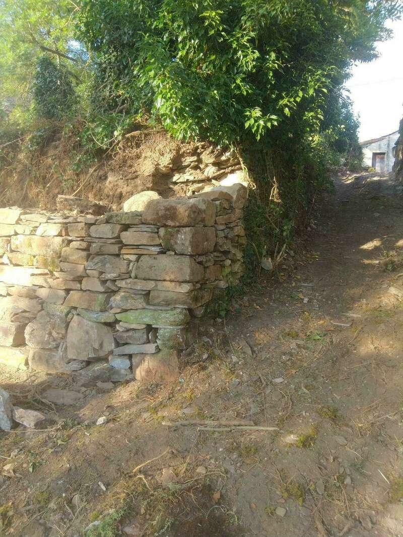 Réfection mur en pierres sèches