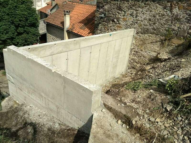 Mur terminé