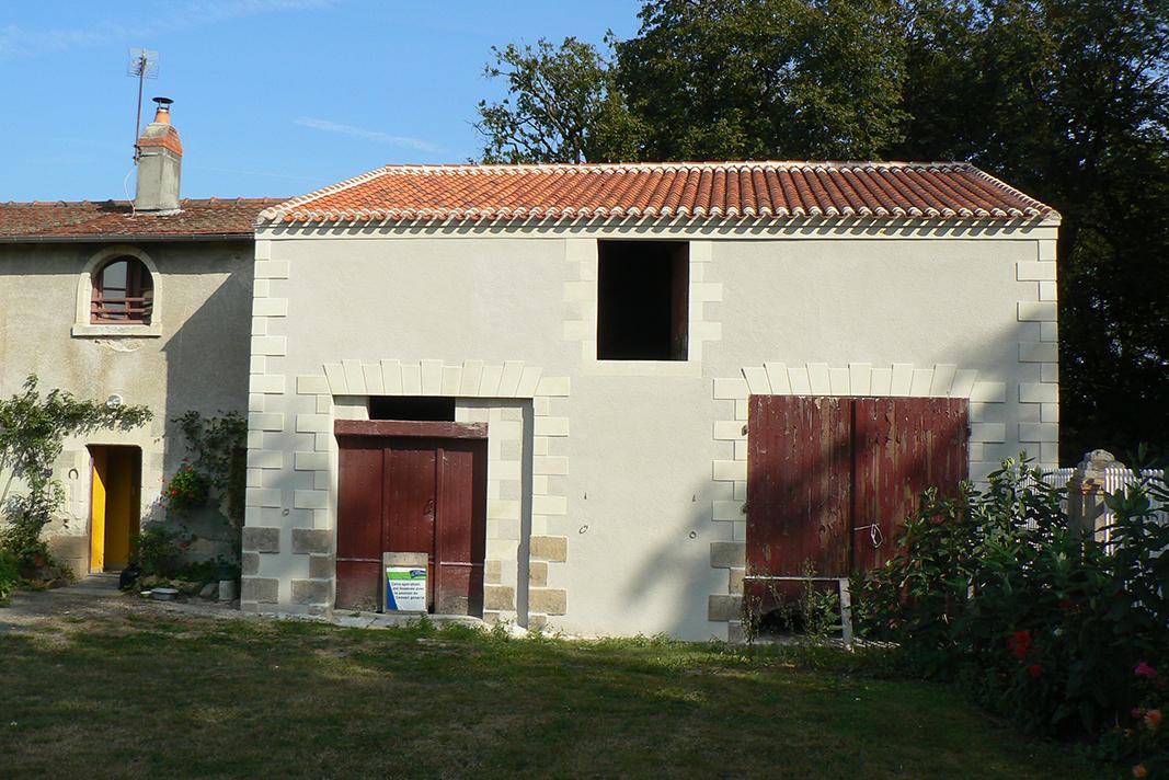 Rénovation de couverture à Saint Mars de Coutais