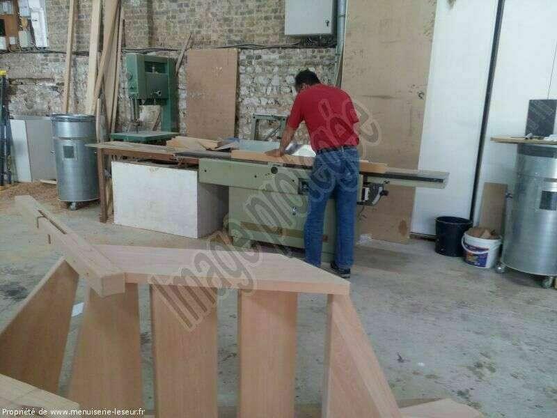 Dégauchisseuse pour la préparation du bois