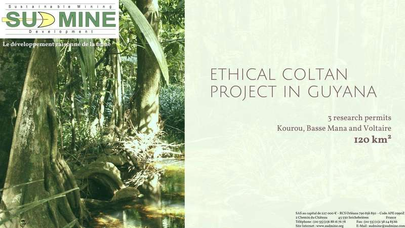 Ethical coltan project in Guyana