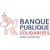 Logo Banque Publique des Solidarités - Crédit Municipal