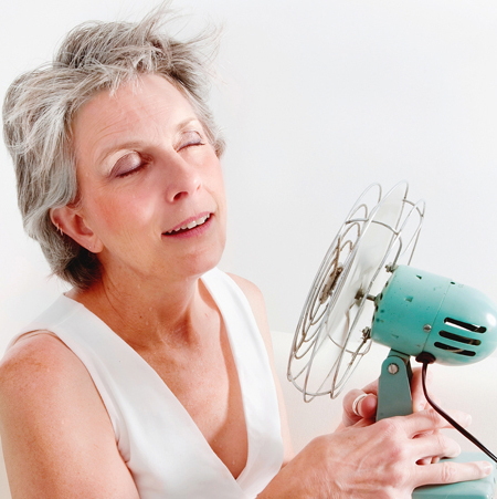 Inconfort de la ménopause