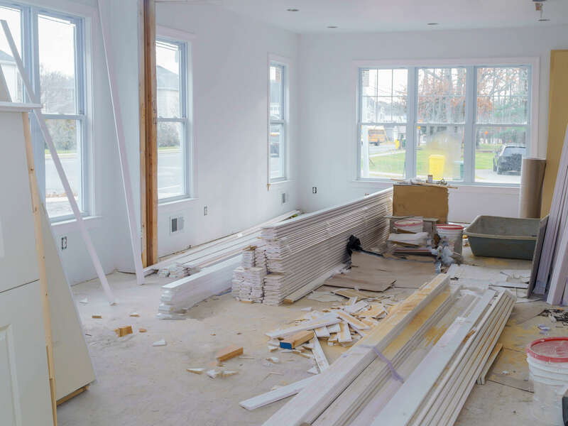 interior-construction-of-housing-project-with-drywall-installed-door-for-new-home