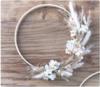 atelier déco couronne fleurs séchées exercices de styles