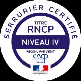 RNCP serrurier