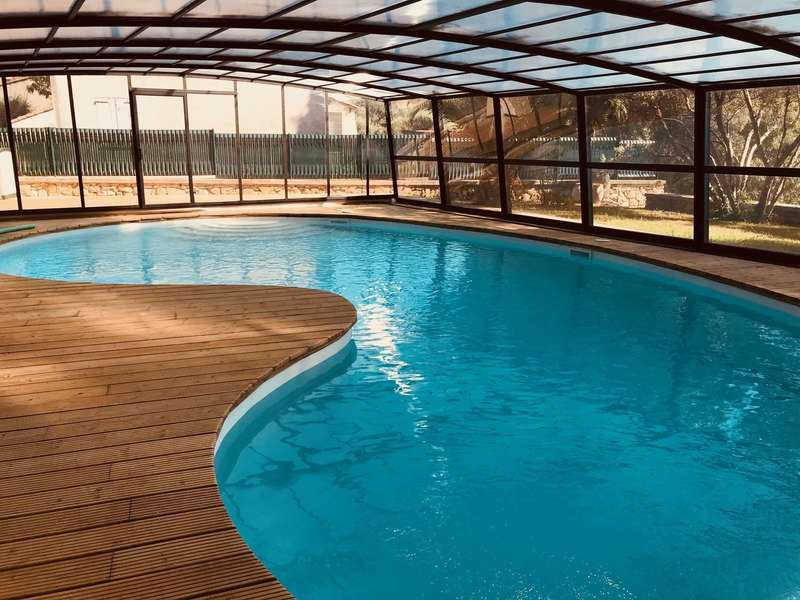 Réalisation d'une terrasse  : 160 m² - Cornillon-Confoux