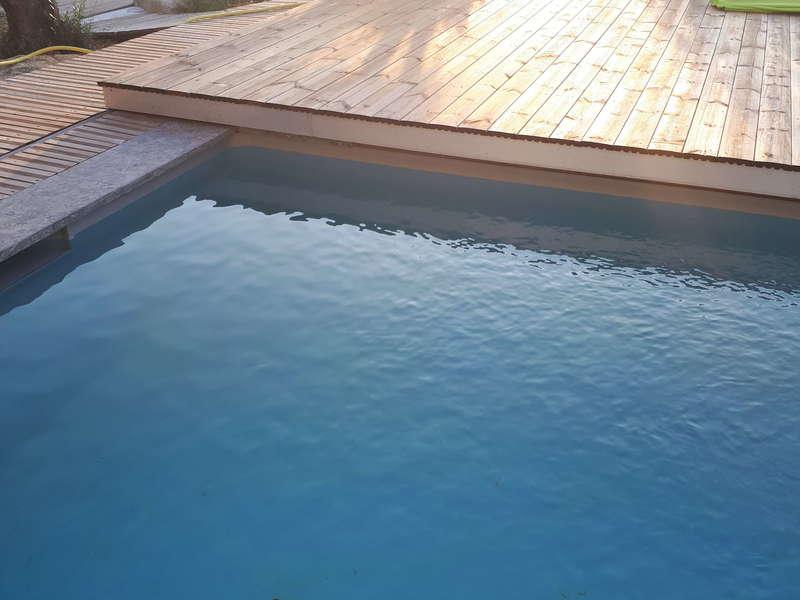 Couvercle piscine. Saint-Chamas