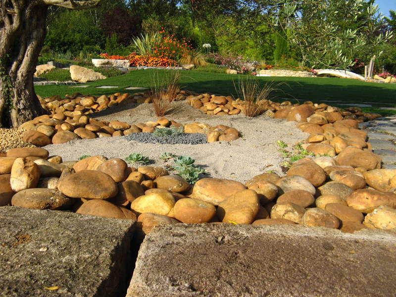 Jardin paysagé Bouc Bel Air