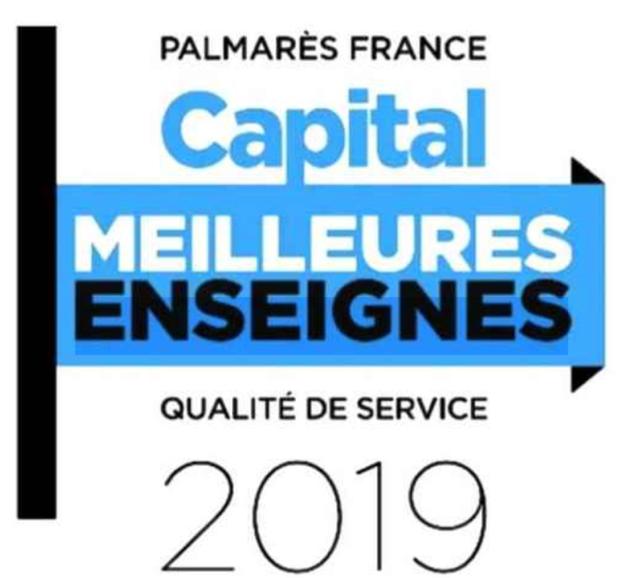 Capital Meilleur enseignes 2019