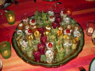 Verrines de Noël