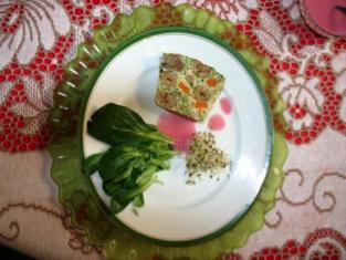 Terrine de légumes aux marrons