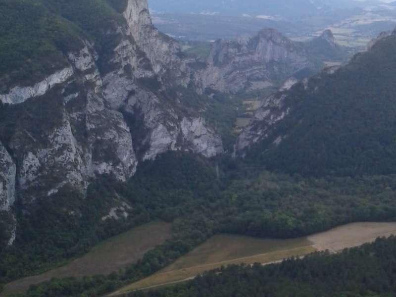 Magnifique vue sur la forêt de Saou