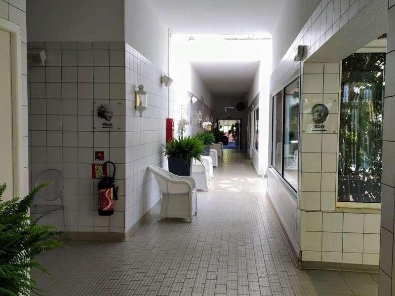 Couloir de l'Unité des soins de boue