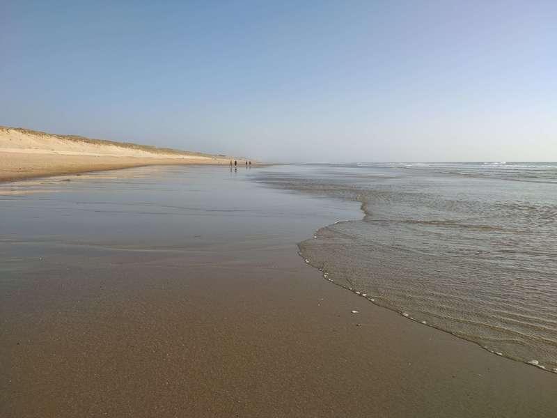 Fin d'après-midi, à marée basse