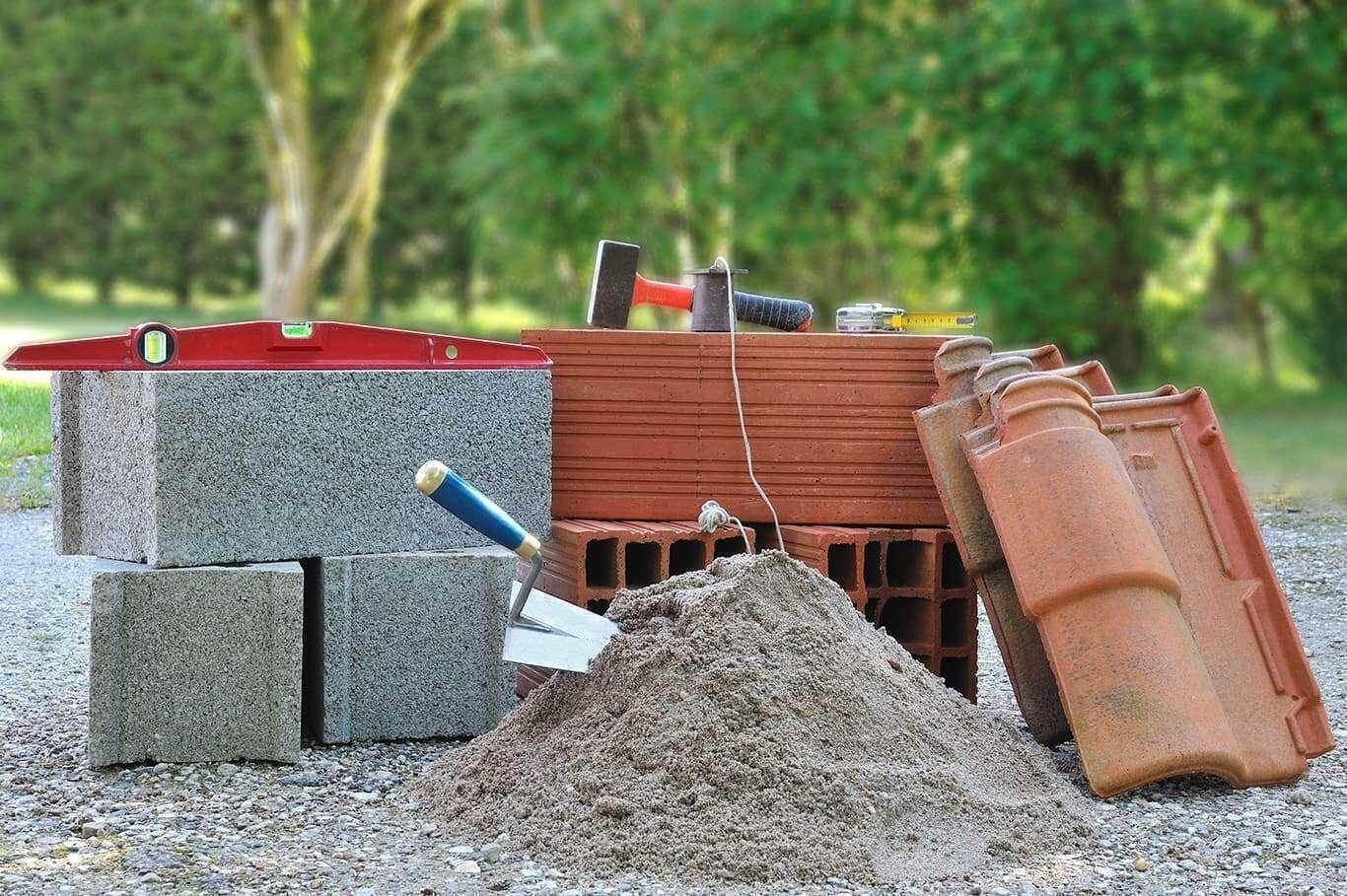 Image de matériaux de chantier