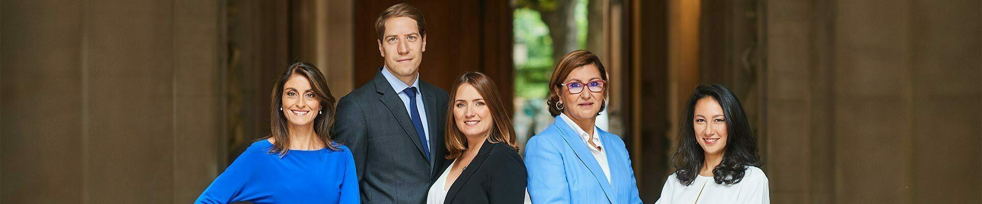 Equipe GV Paris cabinet d'Avocats