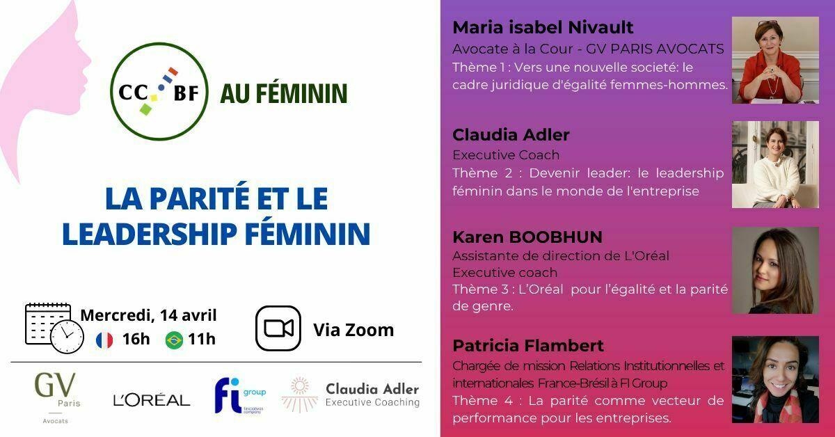 Fiche du Webinar sur la parité et le leadership féminin