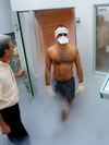 salle de cryothérapie, récupération par le froid après un marathon