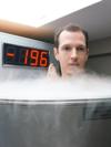 caisson de cryothérapie, récupération par le froid  après un marathon