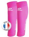 manchon de compression femme rose