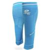 manchons de compression bv sport bleu
