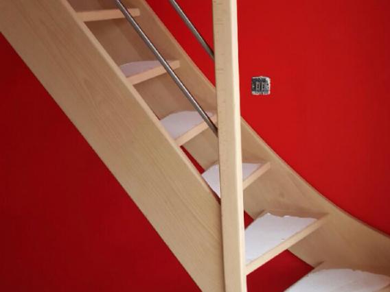 Escalier en bois sur mesure - Paris - Ile de France  30 ans d'expériences pour votre escalier en bois sur mesure