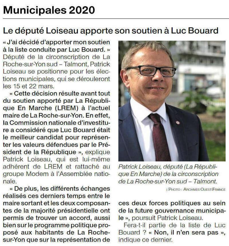 Publié le 31 janvier 2020 - Ouest-France