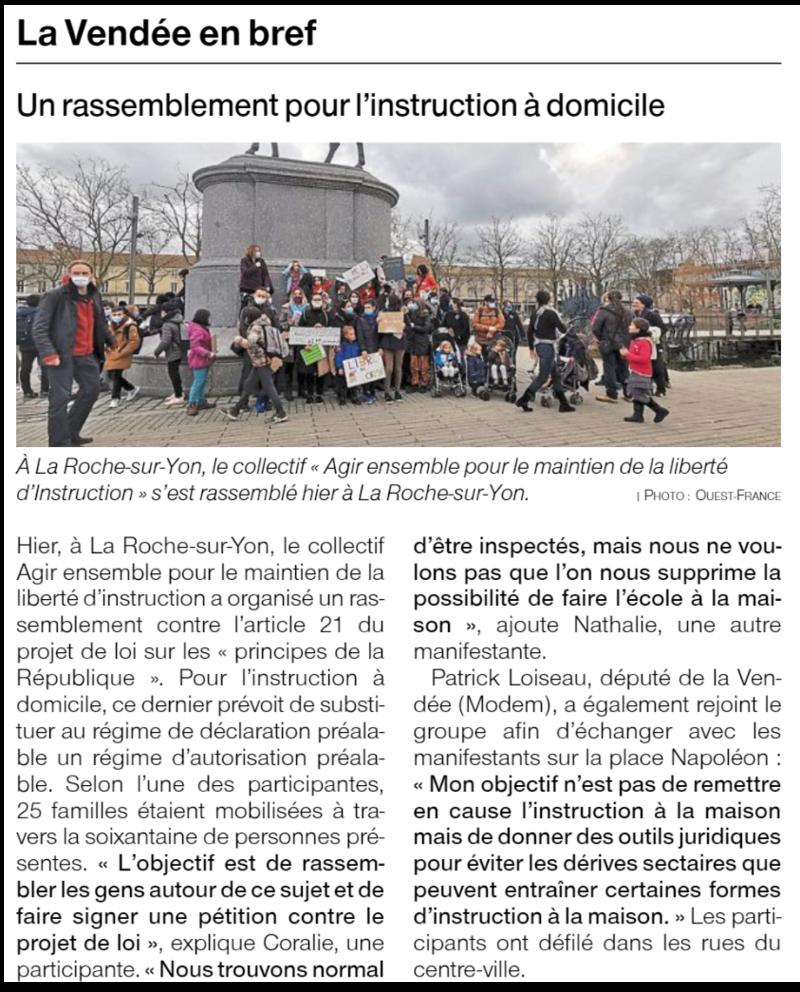 Publié le 6 février 2021 - Ouest-France