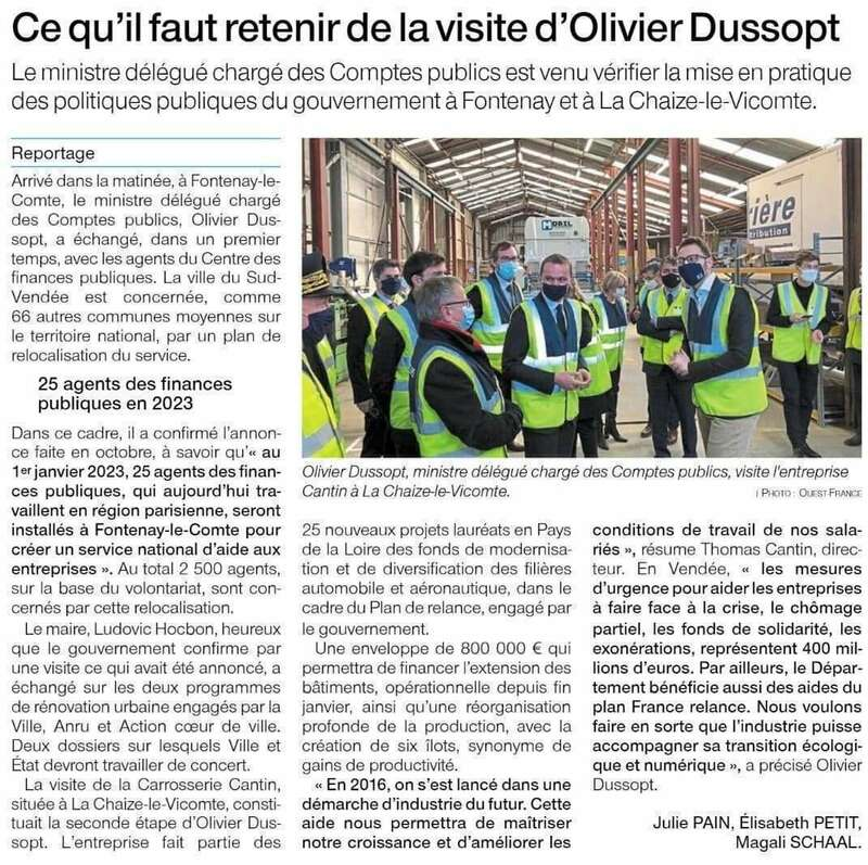 Publié le 1er mars 2021 - Ouest-France