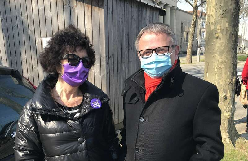 A l'occasion de la journée internationale des droits des femmes, j'ai rencontré Martine Peteytas la président de l'association Le Planning Familial de Vendée. (Lundi 8 mars 2021)