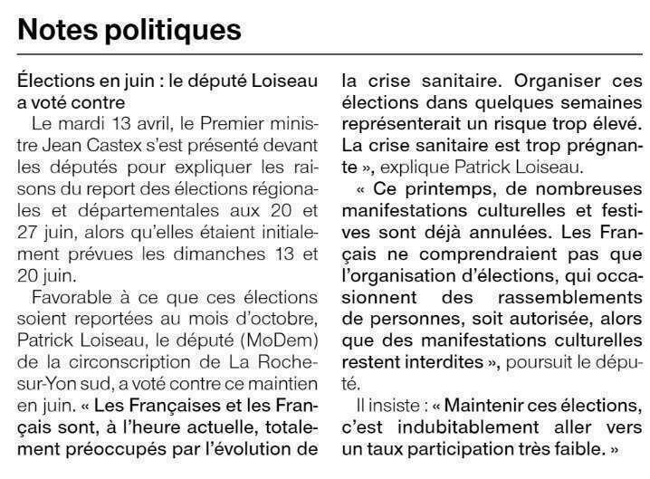 Publié le 15 avril 2021 - Ouest-France