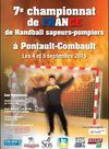 Championnat de France de Handball des Sapeurs Pompiers ostéopathes  du sport, pro osteo