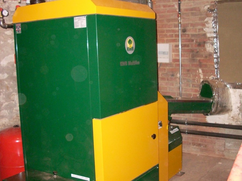 CHAUDIERE A PLAQUETTES MULTIFIRE 60kW