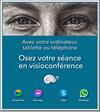 Séance en visioconférence par Didier Delcamps