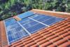 Panneau solaire intégré au bâti
