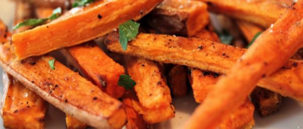 Frites de patate douce au four - Recettes de cuisine