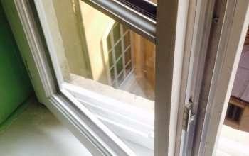 Fenêtre bois gamme VISION Un profil de masse centrale affiné MIXTE ALU/BOIS afin de gagner en luminosité