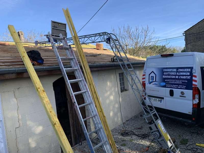 Stahl rénovation couvreur